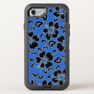 Malia Hibiskus hawaiischer Pareau Druck in OtterBox Defender iPhone 8/7 Hülle
