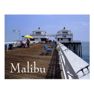 Malibu-Pier, Kalifornien-Postkarte Postkarte