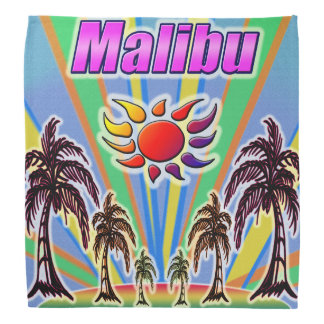Malibu-Sommer-LiebeBandana Halstuch