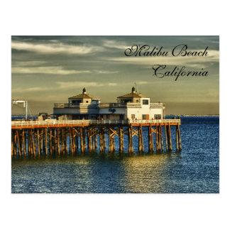 Malibu-Strand, Kalifornien Postkarte