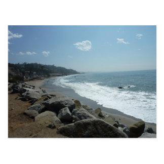 Malibu-Strand-Postkarte Postkarte
