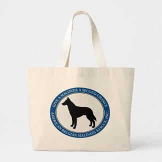 Malinois Rettungs-Logo, Taschen u.
