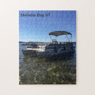 Malletts Bucht-Ponton-Boots-Puzzlespiel Puzzle