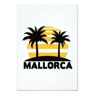 Mallorca 8,9 X 12,7 Cm Einladungskarte