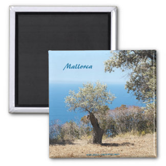 Mallorca-Magneten Quadratischer Magnet