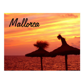 Mallorca-Sonnenuntergang - Postkarte