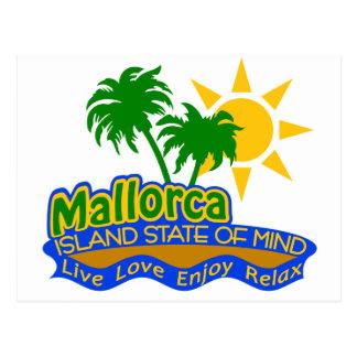 Mallorca-Staat der Sinnespostkarte Postkarte
