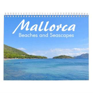 Mallorca, Strände und Meerblicke - Kalender 2017