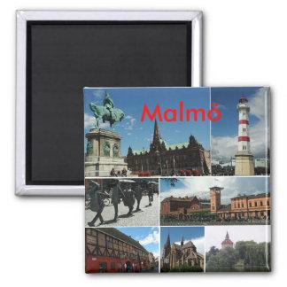 Malmo1, Malmö Quadratischer Magnet