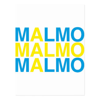 MALMÖ POSTKARTE