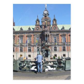 Malmö Schweden - Rathaus Postkarte