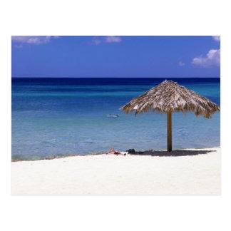 Malmok Strand, Aruba, niederländische Antillen Postkarte