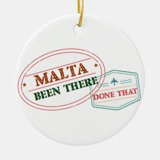 Malta dort getan dem keramik ornament