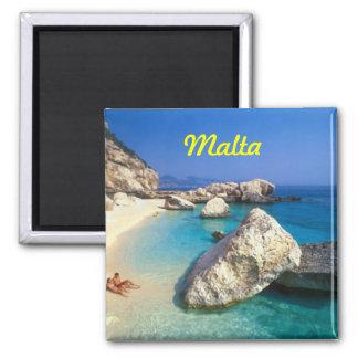 Malta-Kühlschrankmagnet