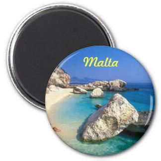 Malta-Magnet Runder Magnet 5,1 Cm