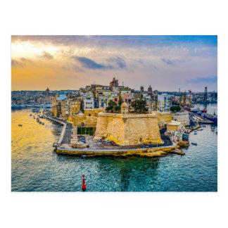 Malta-Postkarte Postkarte