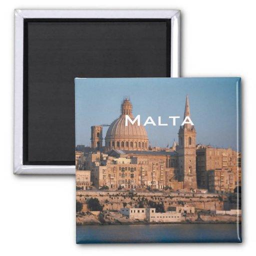 Malta-Reise-Andenken-Foto-Kühlschrankmagnet