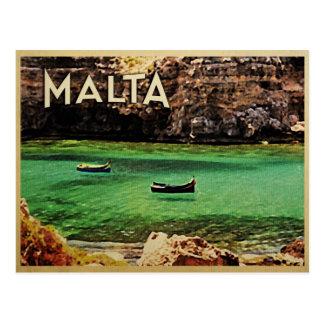 Malta Vintag Postkarte