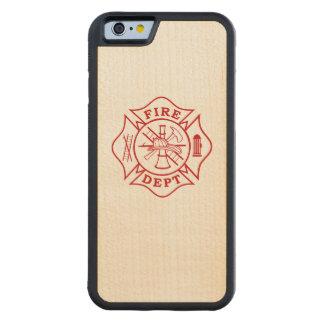 Malteserkreuz-Ahorn iPhone 6/6s Feuer-Abteilung Bumper iPhone 6 Hülle Ahorn