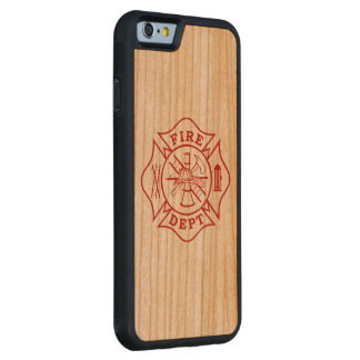 Malteserkreuz-KirscheiPhone 6/6s Feuer-Abteilung Bumper iPhone 6 Hülle Kirsche
