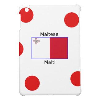 Maltesische (Malti) Sprache und iPad Mini Hülle