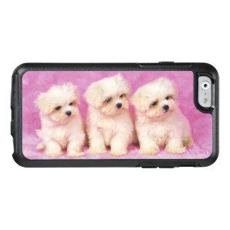Maltesischer Hund; ist eine kleine Zucht des OtterBox iPhone 6/6s Hülle