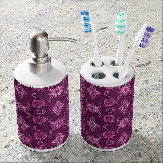 Malvenfarbe für Sie Badezimmer-Set