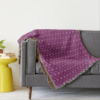 Malvenfarbe für Sie Decke
