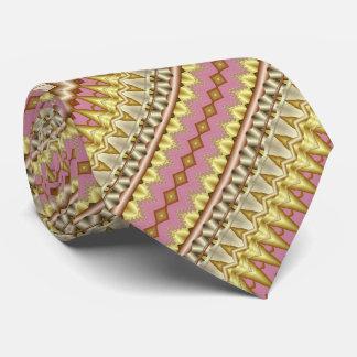 Malvenfarben-, Gold-und Taupe-diagonales Krawatte