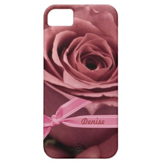 Malvenfarbene Rose personifizieren iPhone 5/5S Etui Fürs iPhone 5