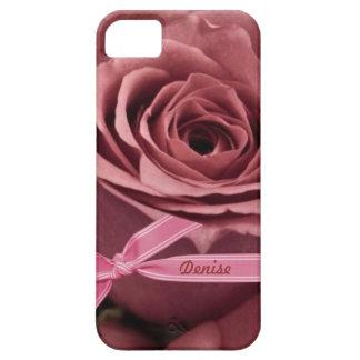Malvenfarbene Rose personifizieren iPhone 5/5S iPhone 5 Schutzhülle