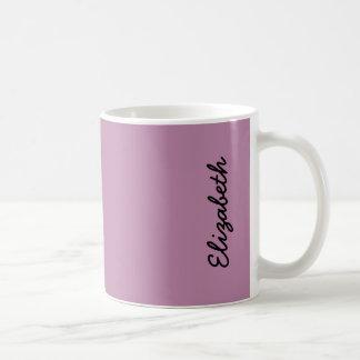 Malvenfarbener Normallack Kaffeetasse