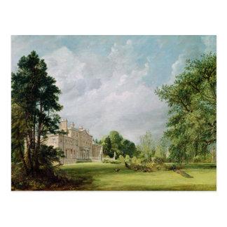 Malvern Hall, Warwickshire, 1821 Postkarte