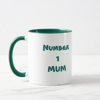 Mama der Nr.-1 - Tasse der Mutter Tages