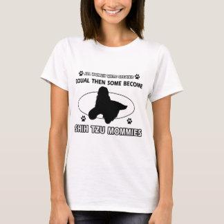 Mama-Entwürfe Shih Tzu T-Shirt