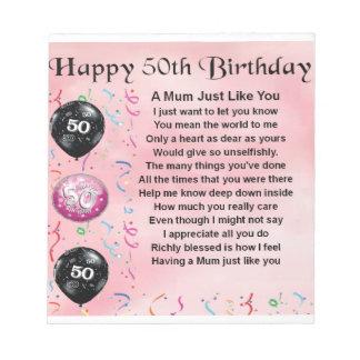 Geburtstag mama 50 - Geschenk 50 geburtstag mama ...