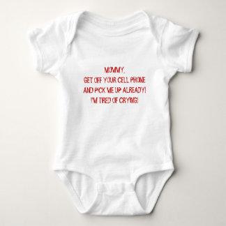 MAMA GEHEN VON IHRER Schnellausstattung des HANDYS Baby Strampler