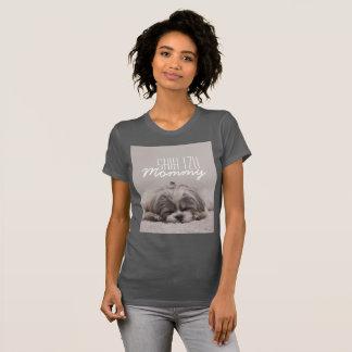 Mama-Hundeliebhaber-T - Shirt Shih Tzu