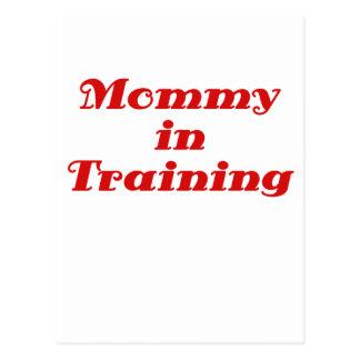 Mama im Training Postkarte