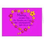 Mama / pink BG Karte