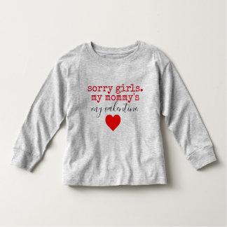 Mama-Valentinsgruß Kleinkind T-shirt