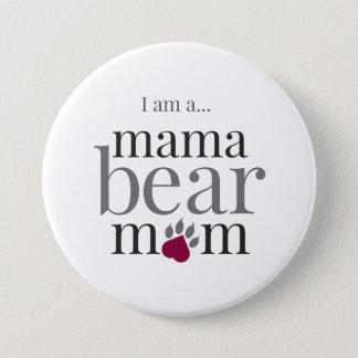 Mamabear Mamma-Button Runder Button 7,6 Cm