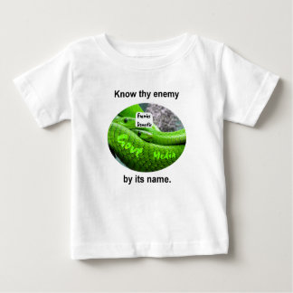 Mamba-Schlange - kennen Sie Thy Feind durch seinen Baby T-shirt