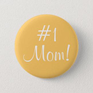 Mamma #1! runder button 5,7 cm