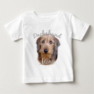 Mamma 2 der Dackel-(Drahthaar) Baby T-shirt