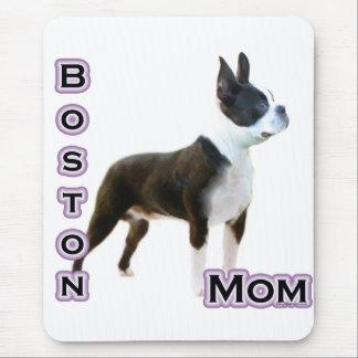 Mamma 4 Bostons Terrier Mousepad