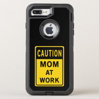Mamma am Arbeits-Telefon-Kasten OtterBox Defender iPhone 8 Plus/7 Plus Hülle