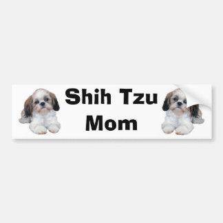Mamma-Autoaufkleber Shih Tzu Autoaufkleber