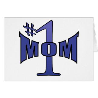 Mamma b der Nr. 1 Karte