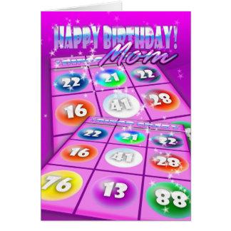 Mamma-Bingo-verrückte Geburtstags-Karte